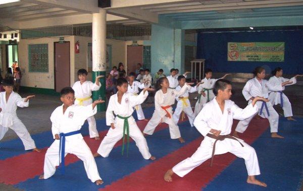 karate și vene varicoase