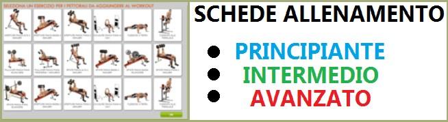 Online fitness allenamenti schede palestra sport - Palestra a casa esercizi ...
